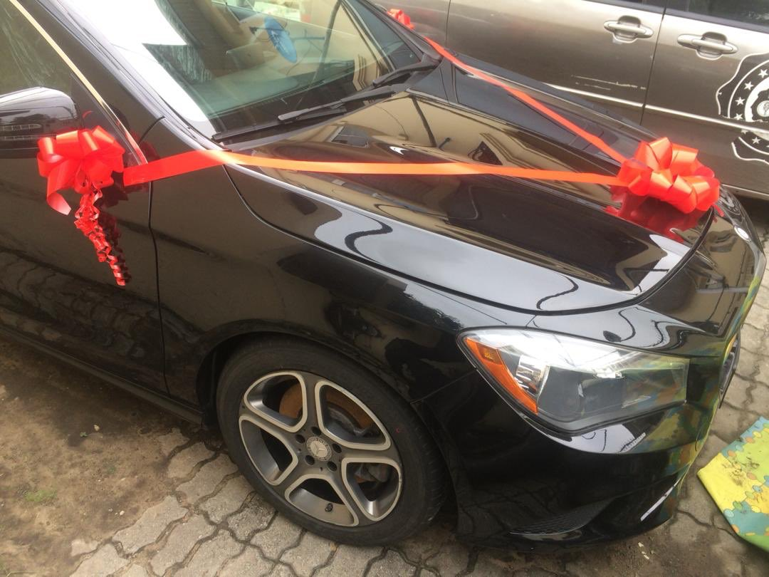 Dorathy receives Mercedes Benz