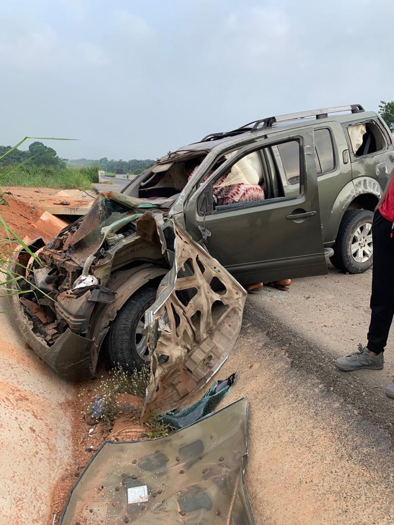 yul edochie accident