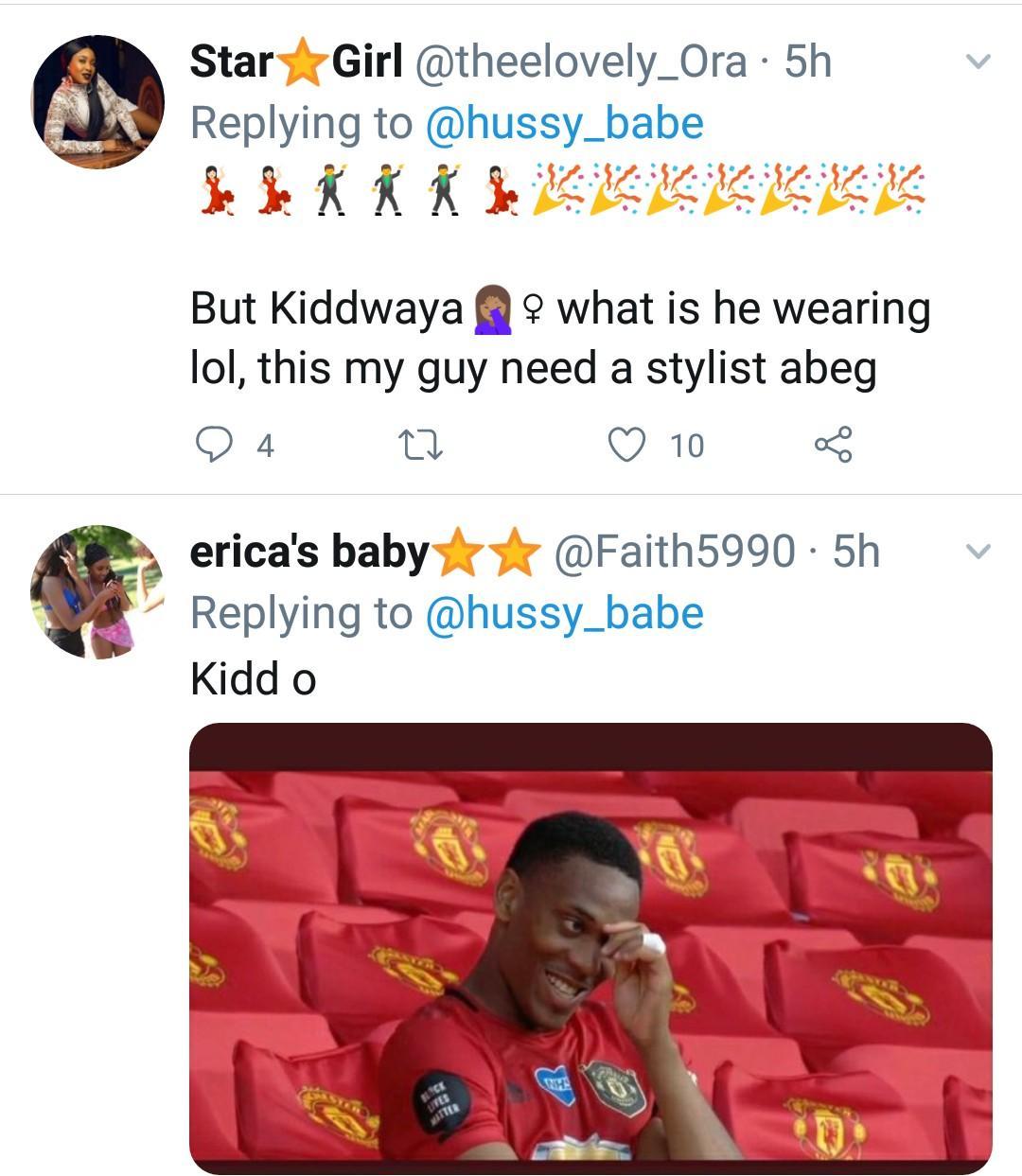 Fans blast Kiddwaya