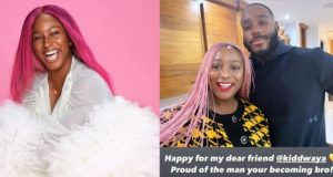 DJ Cuppy gushes