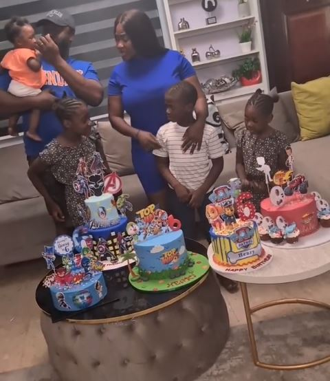 mercy johnson celebrates