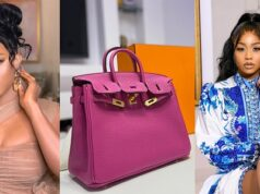 Toke Makinwa backs