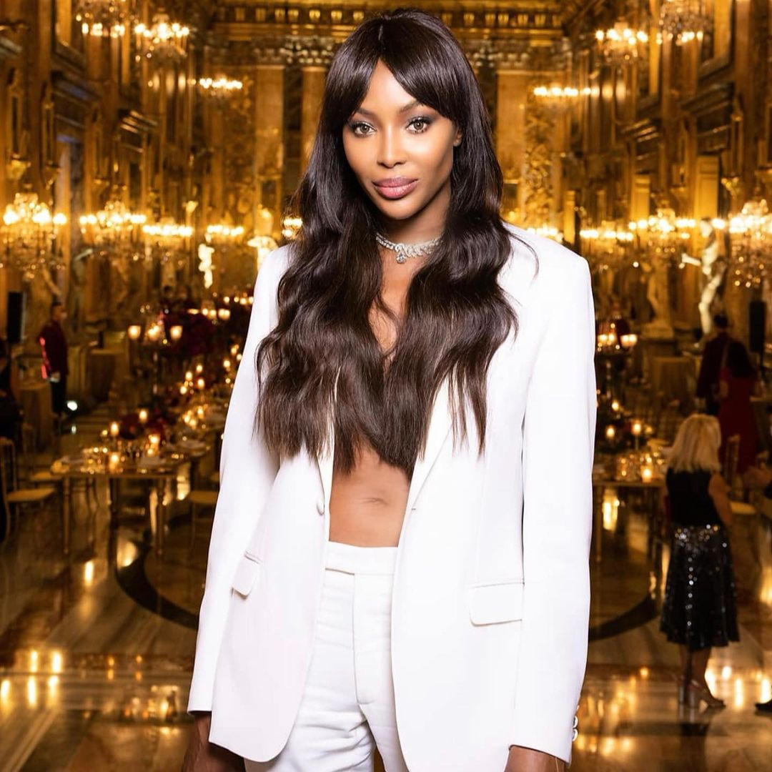 """Now bring back the girls"" - Naomi Campbell reacts to news of the released over 300 schoolboys kidnapped from Katsina school"