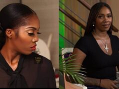Tiwa savage reacts