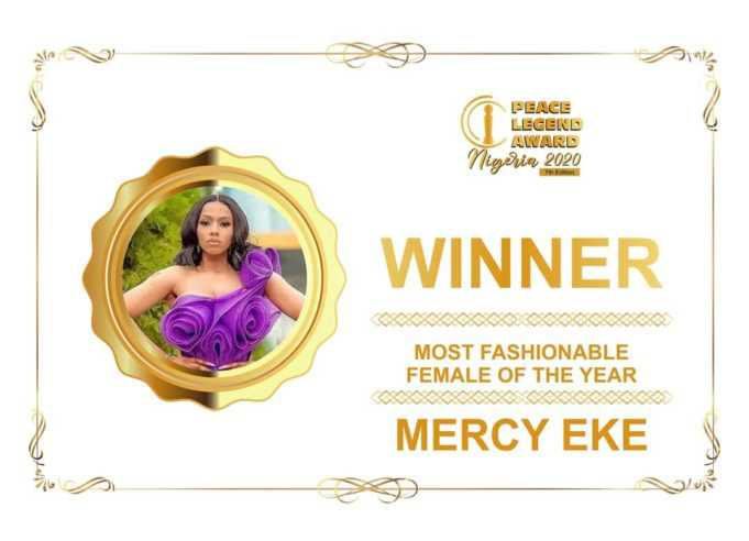 Mercy Eke crowned