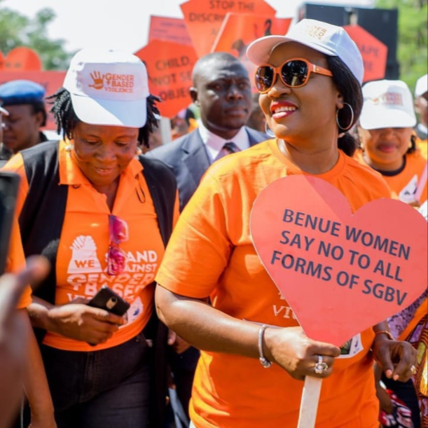 Benue first lady leads