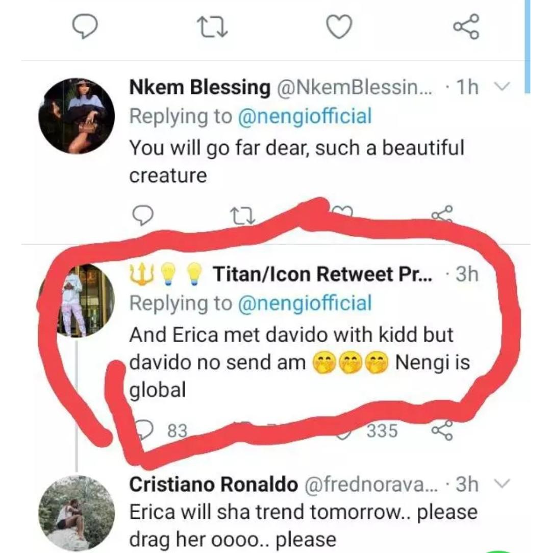 Erica dragged
