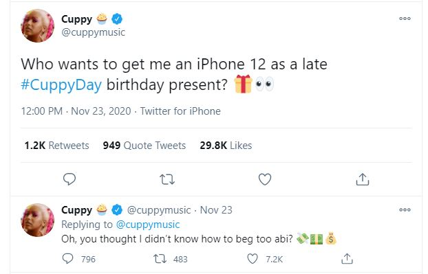 cuppy beg