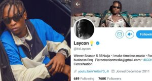 Laycon becomes first