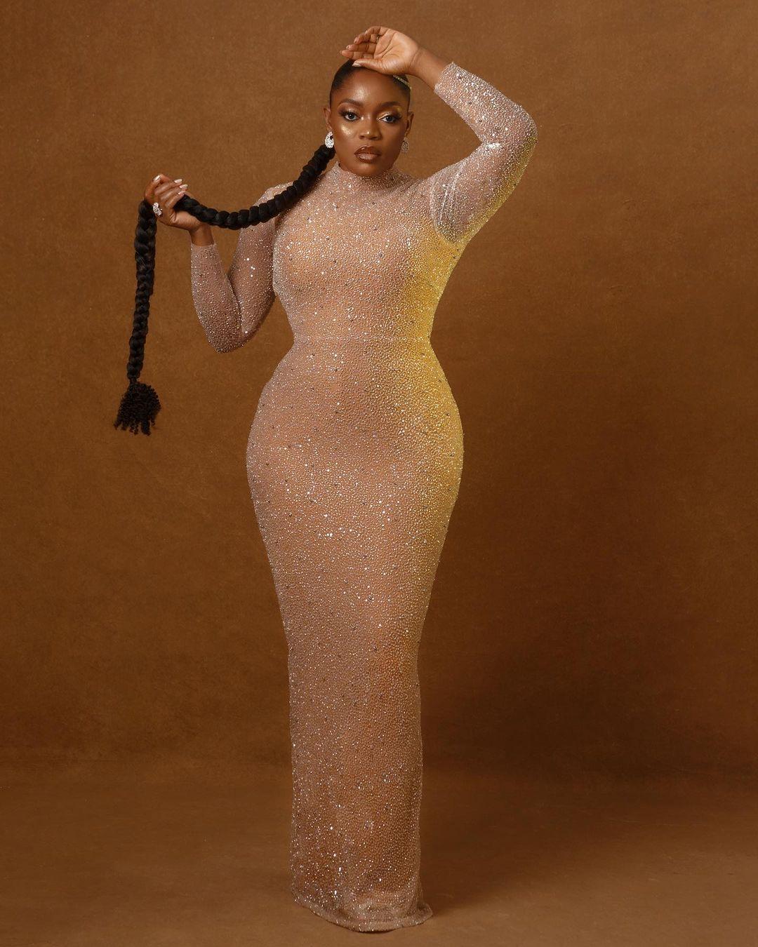 Actress Bisola recreates