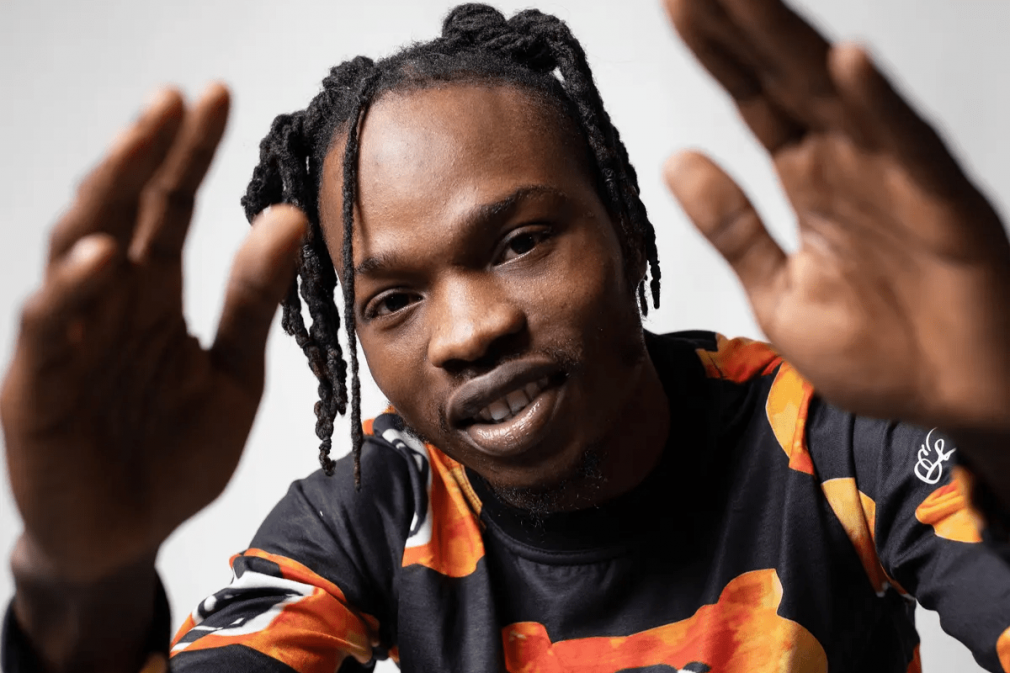 Naira marley reacts