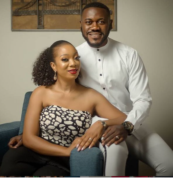 Deyemi Okanlawon and wife