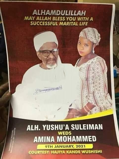 Shocking as 83 year-old Nigerian Muslim man set to marry 16-year-old girl