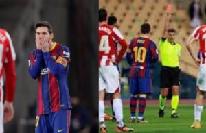 Messi receives