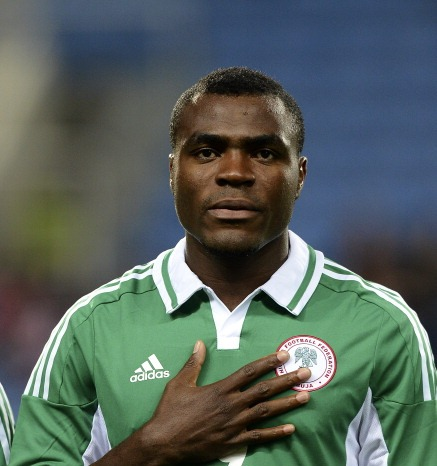 Footballer Emenike builds