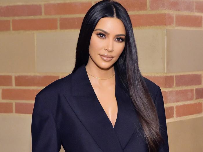 Kim Kardashian faces