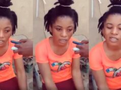 lady cries out