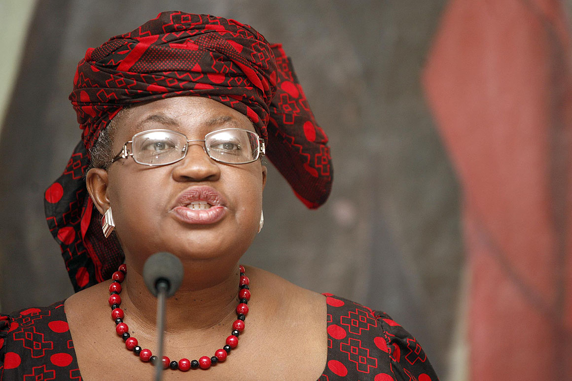 Ngozi Okonjo-Iweala appointed