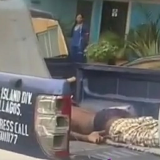 Shocking: Man reportedly jumps to his death after EFCC stormed 1004 Estate Lagos, to effect some arrests (photos/Video)