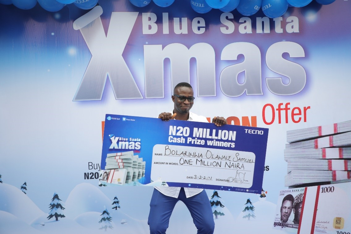 TECNO's Blue Christmas