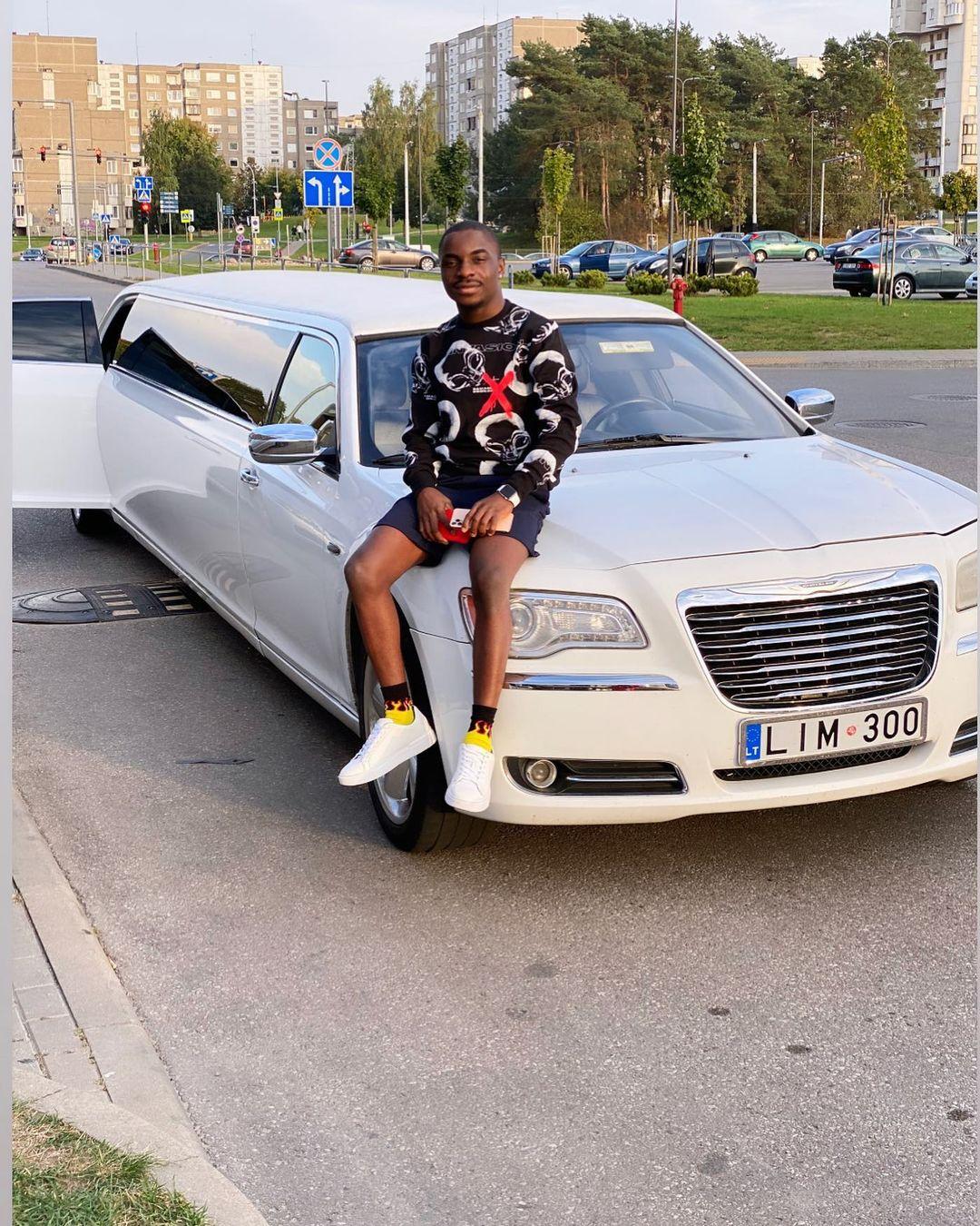MC Oluomo's son blasts