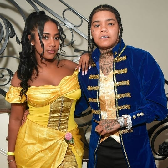 Young M.A reacts