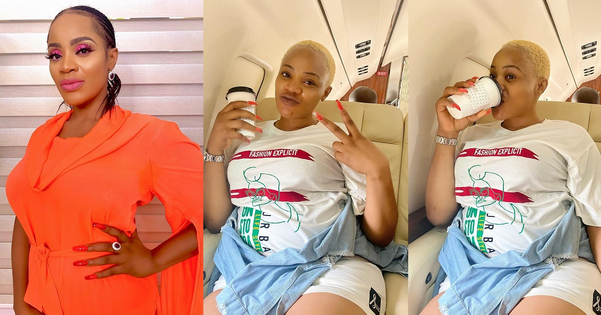 Uche Ogbodo pregnant with her second child