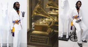 Burna Boy's Grammy Award