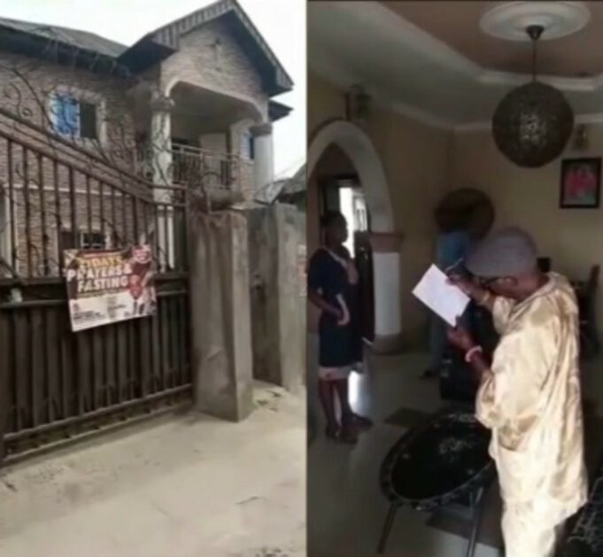 Shocking as man donates his family house to a church, leaving his family members homeless (video)