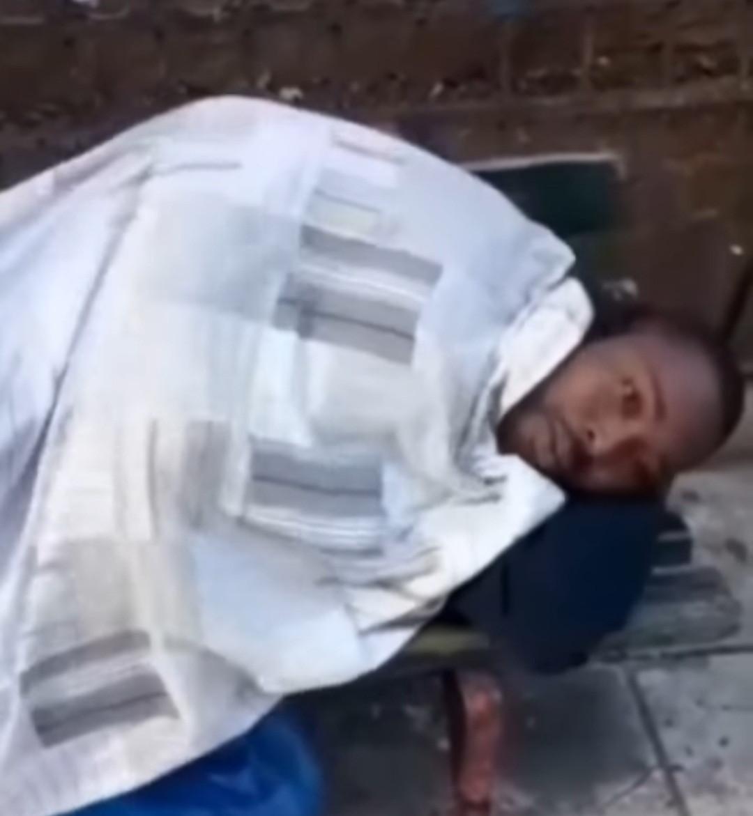 Nigerian man thrown