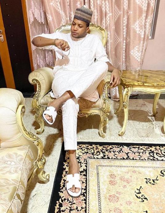 Son of Aisha Buhari's