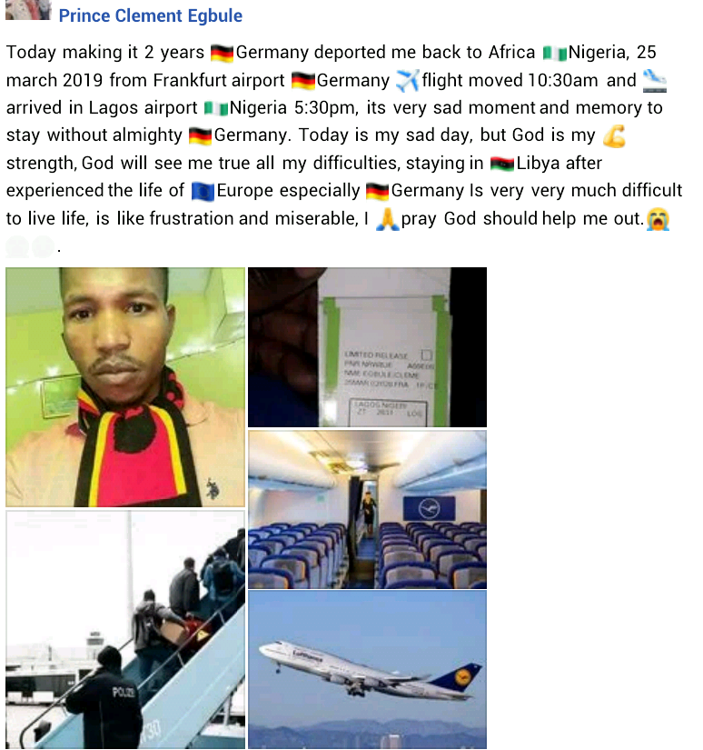 Nigerian man laments