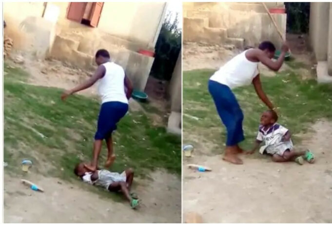 Wicked Mother sentenced to 2 years imprisonment after she was filmed brutalizing her 5-year-old son and stomping on his head