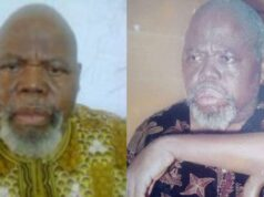 death of veteran Benjamin Nwani Okolo.