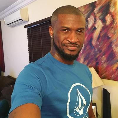 Peter Okoye reacts