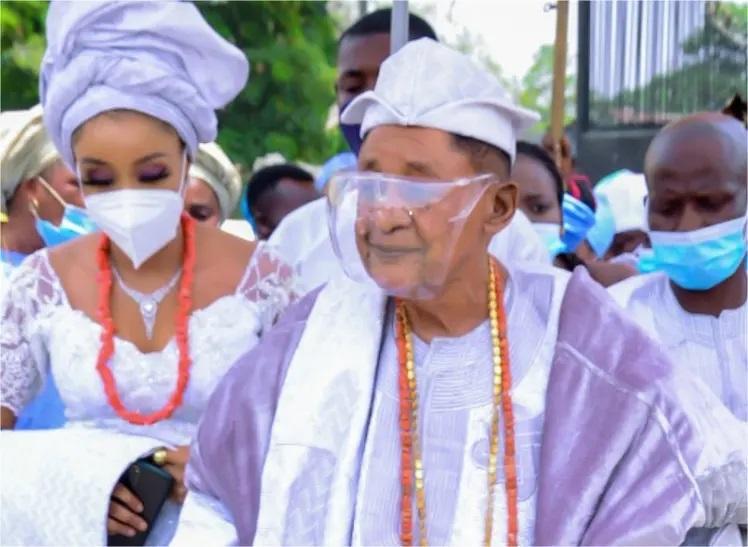 Alaafin of Oyo makes