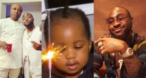Davido's logistics manager, Israel DMW has reignited the rumours about the singer's alleged second son, Dawson, with Larissa London.