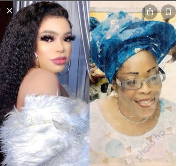 Bobrisky shares photo