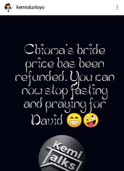 Chiomas bride price