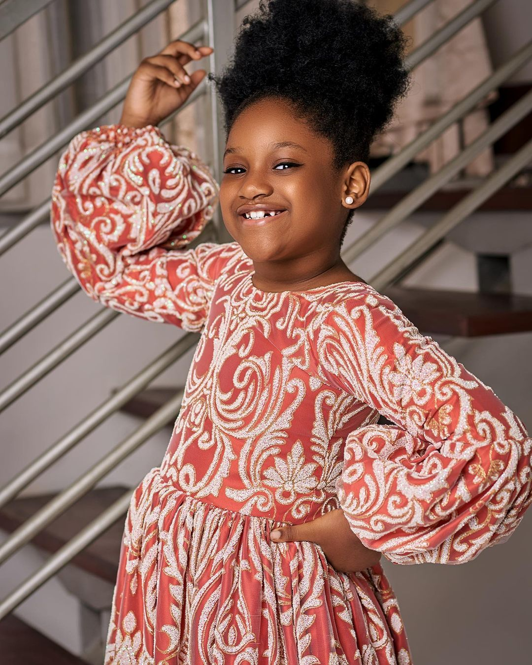 2face's daughter passionately