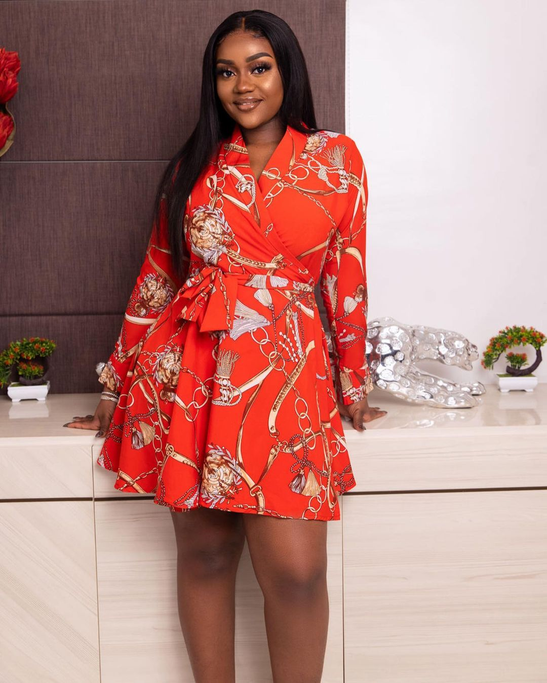 Chioma Rowland shows off