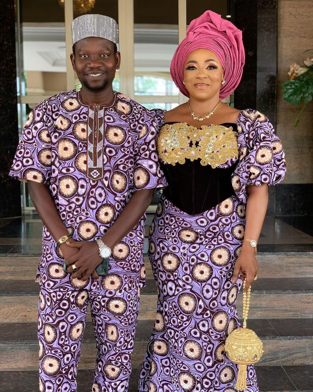 Mide Martins' husband
