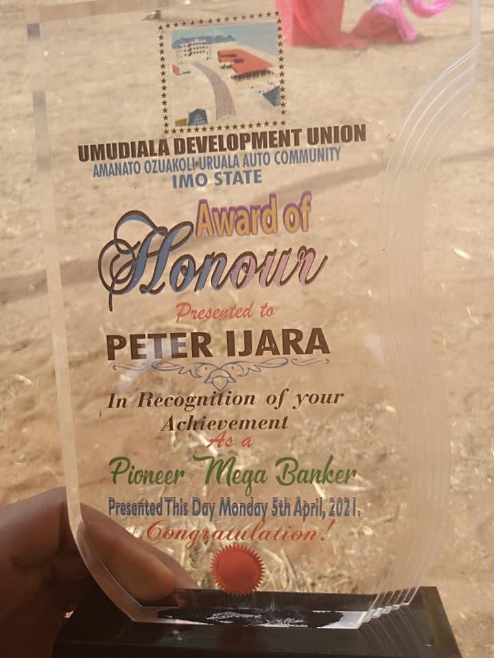 Imo community honours