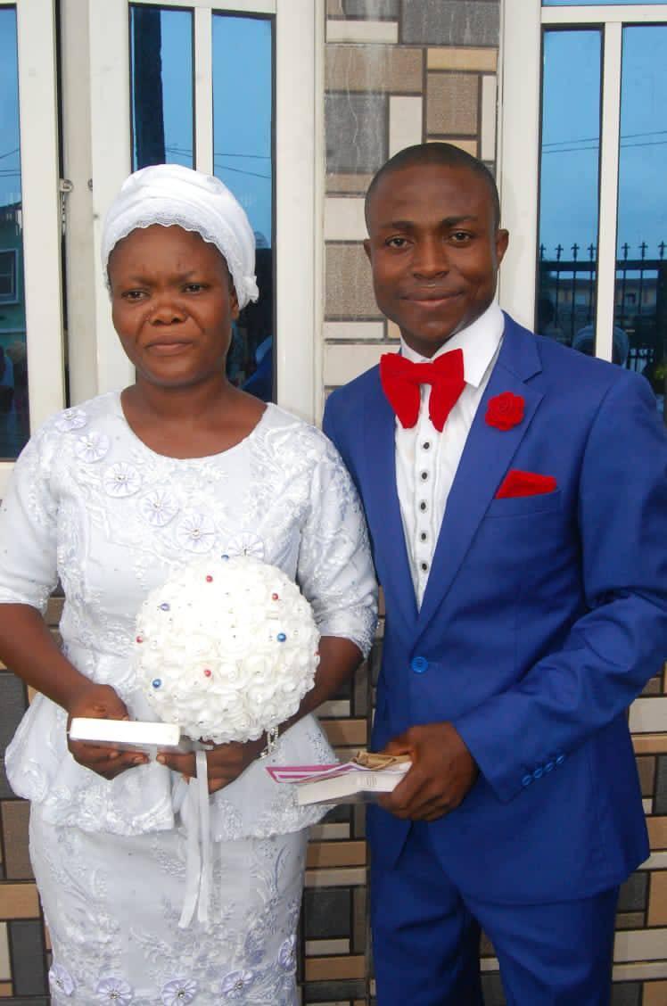 Nigerian bride who wore
