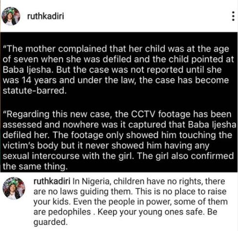 Ruth Kadiri advises