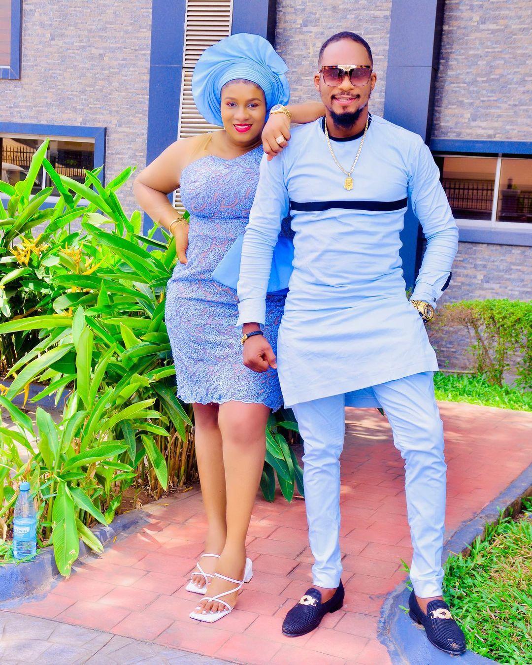 unior Pope Odonwodo hails wife