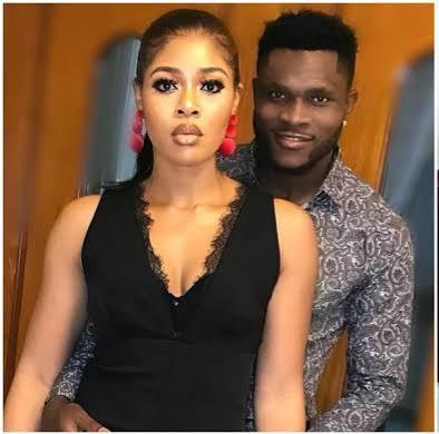 Aaron Samuel and wife, Chinwe