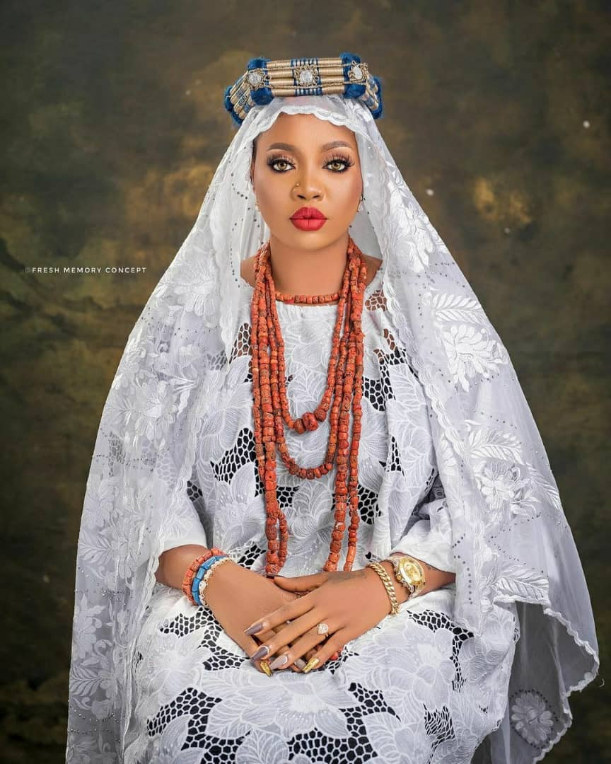 Alaafin of Oyo's wife shares
