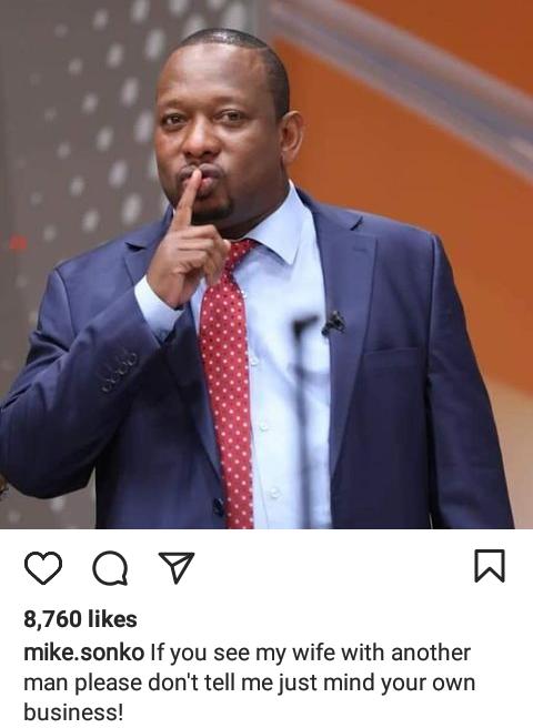 Mike Sonko warns Kenyans