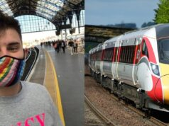 Train firm apologises